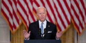 Joe Biden Backs His Afghanistan Withdrawal Amid Chaos in Kabul