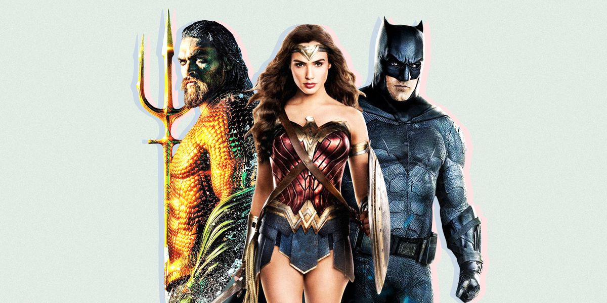 Every DC Extended Universe Movie Ranked from Wonder Woman to Aquaman